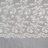 27 - Ivory Beaded Allover Lace