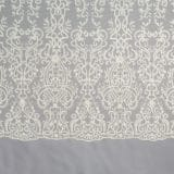28 - Ivory Beaded Panel Lace