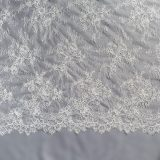 3 - Ivory Corded Chantilly Lace