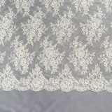 9 - Ivory Embroidered Lace