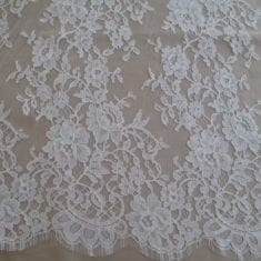 French Chantilly Lace Cream