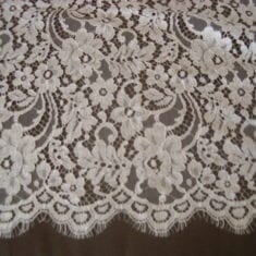 42. White French Lace