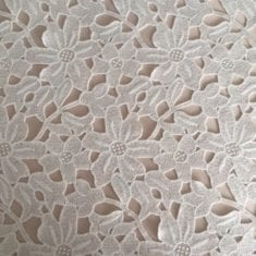 Ivory Cut out lace