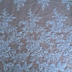 36. Ivory Guipure Fade out Lace