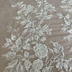 Beaded Climbing Rose lace