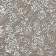 Embroidered Sequinned Rose